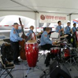 Band performing at Ocean Concrete Open House, April 2011