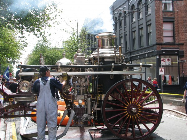 Victoria FD's Steam Engine