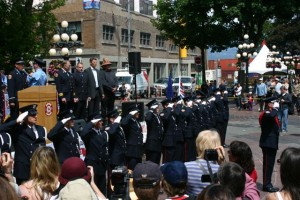 VFRS Honours 125th since the Great Fire of Gastown and the inception of the Fire Department